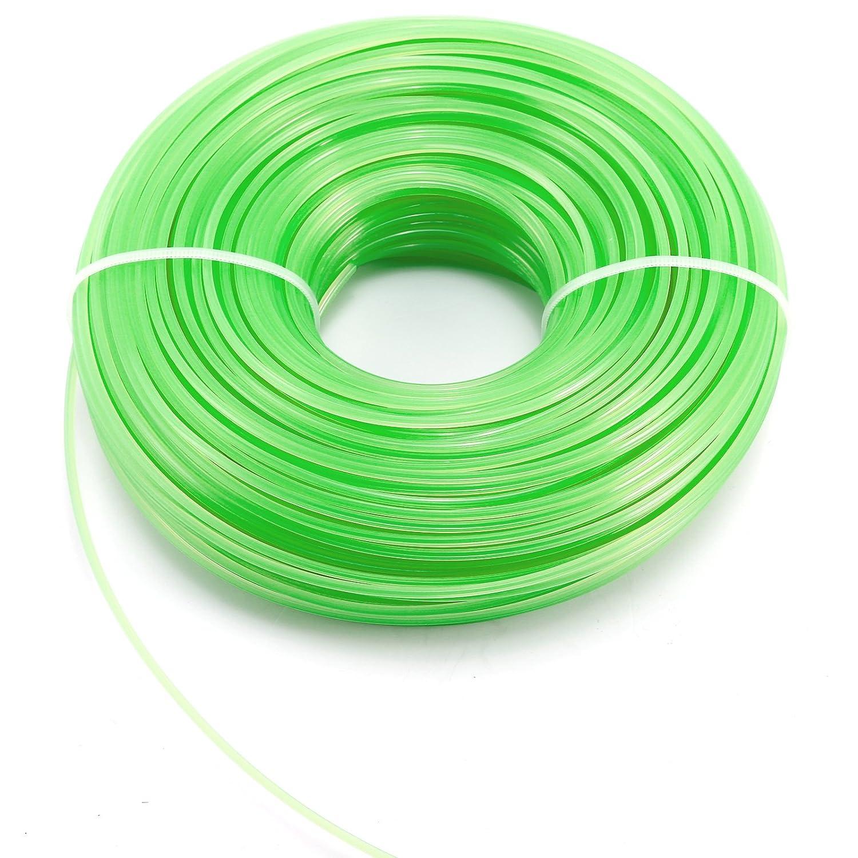 90M 100M fil nylon pr debroussailleuse a gazon 2,4mm 1,6mm 3mm 60M