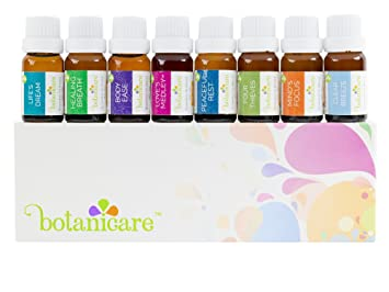 Amazon Com Top Essential Oil Blends Aromatherapy Kit 8 10ml