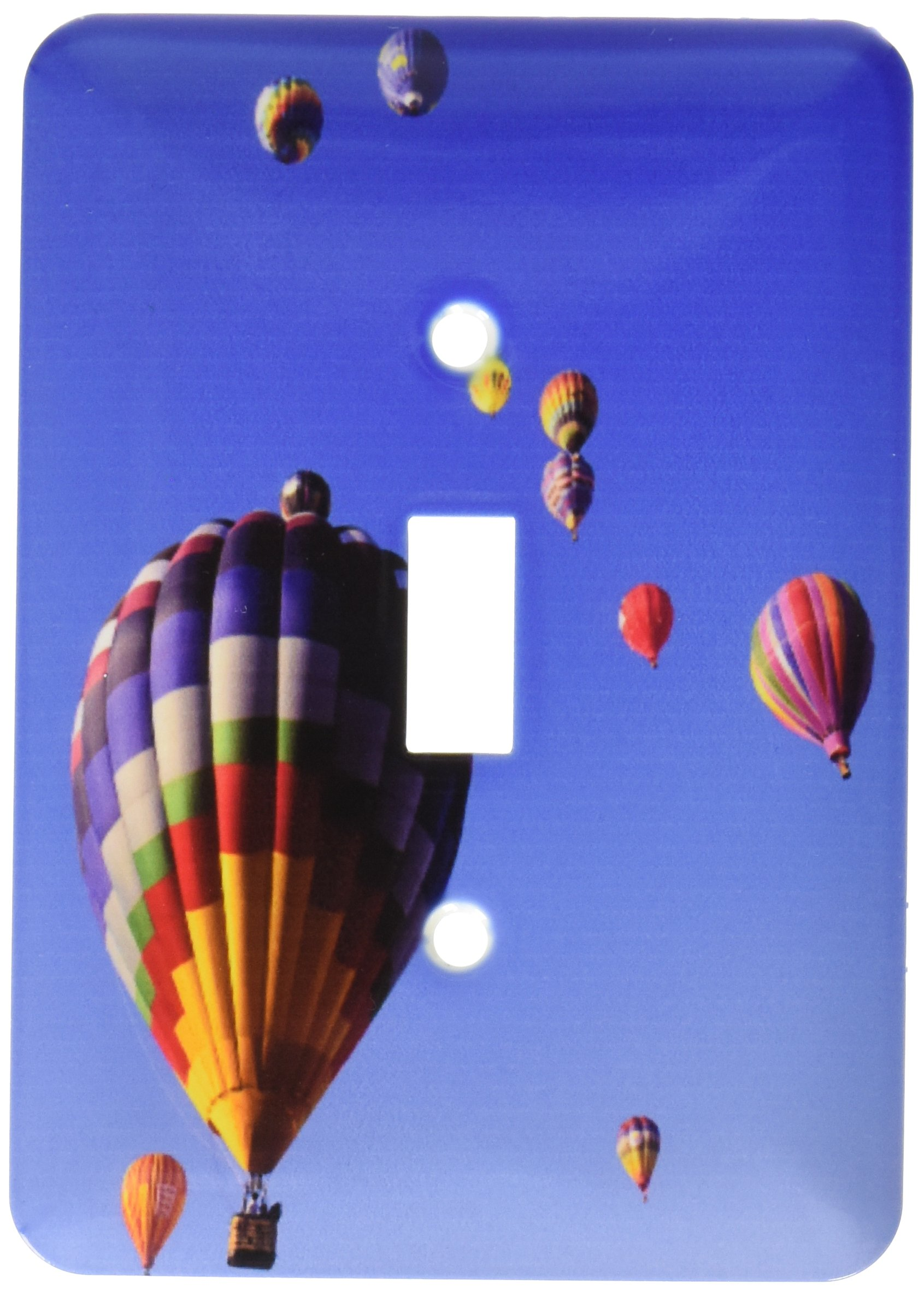 3dRose LLC lsp_92523_1 Hot Air Balloons Albuquerque New Mexico Us32 Bba0010 Bill Bachmann Single Toggle Switch