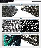Didaoffle 50% Sunblock Shade Net Black UV
