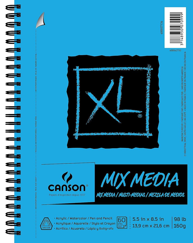Canson XL Series Mix Media Pad, 5.5