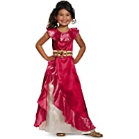 Elena Adventure Dress Classic Elena of Avalor Disney Costume (XS/3T-4T)
