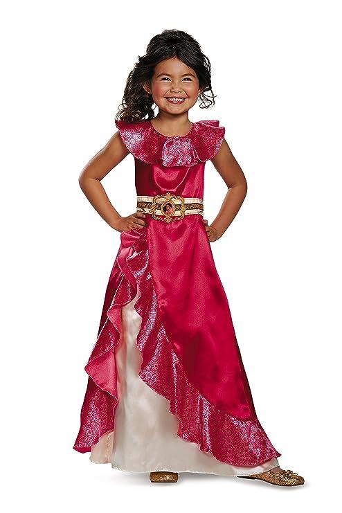 Disguise Elena Aventura Vestido Elena Clásico De Avalor Disney Disfraz Multi Color Medium3t 4t