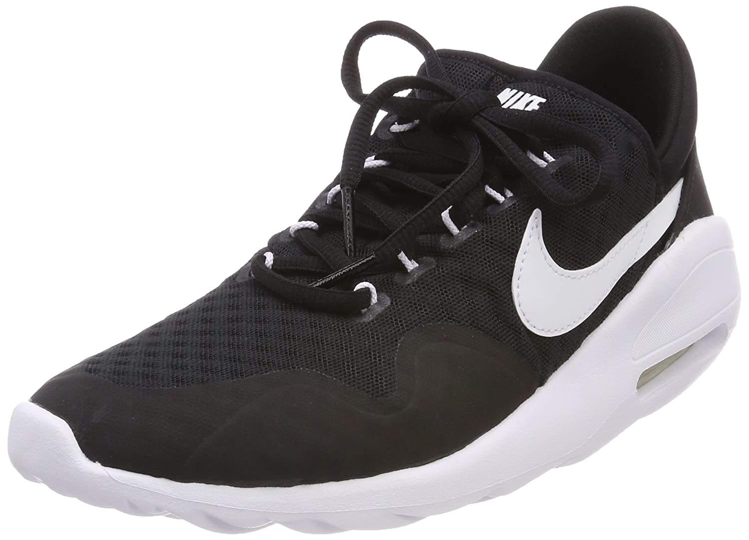3a375537ee Nike Women's Air Max Sasha Low-Top Sneakers, Black (Black/White-Black-Wh  003), 7.5 UK