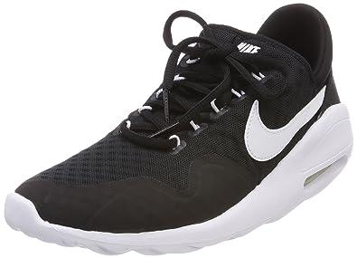 dc6aec6614 Nike Women's Air Max Sasha Low-Top Sneakers, Black (Black/White-Black-Wh  003), 7.5 UK