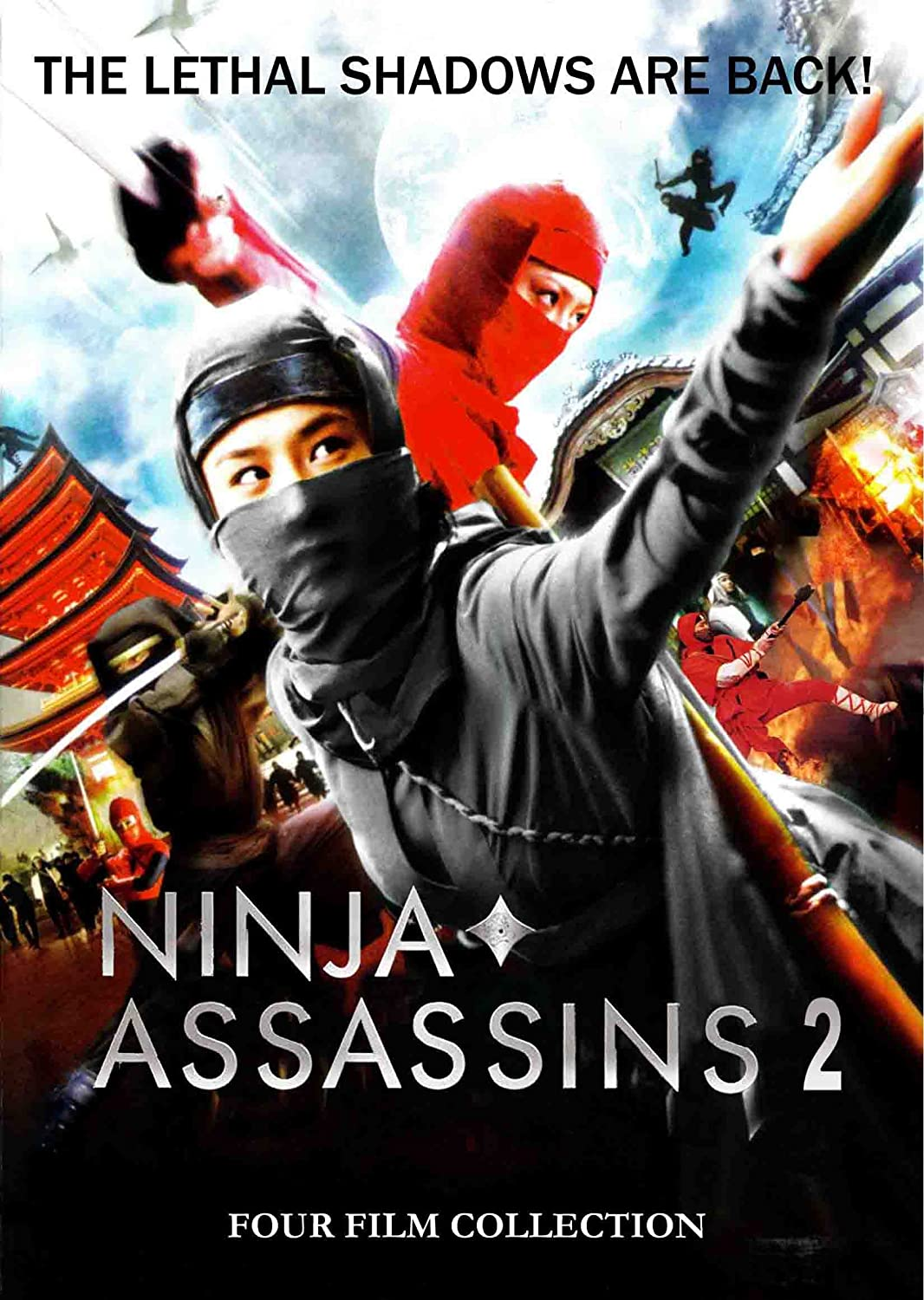 Amazon com: Ninja Assasins 2: 4 Film Collection: Alexander