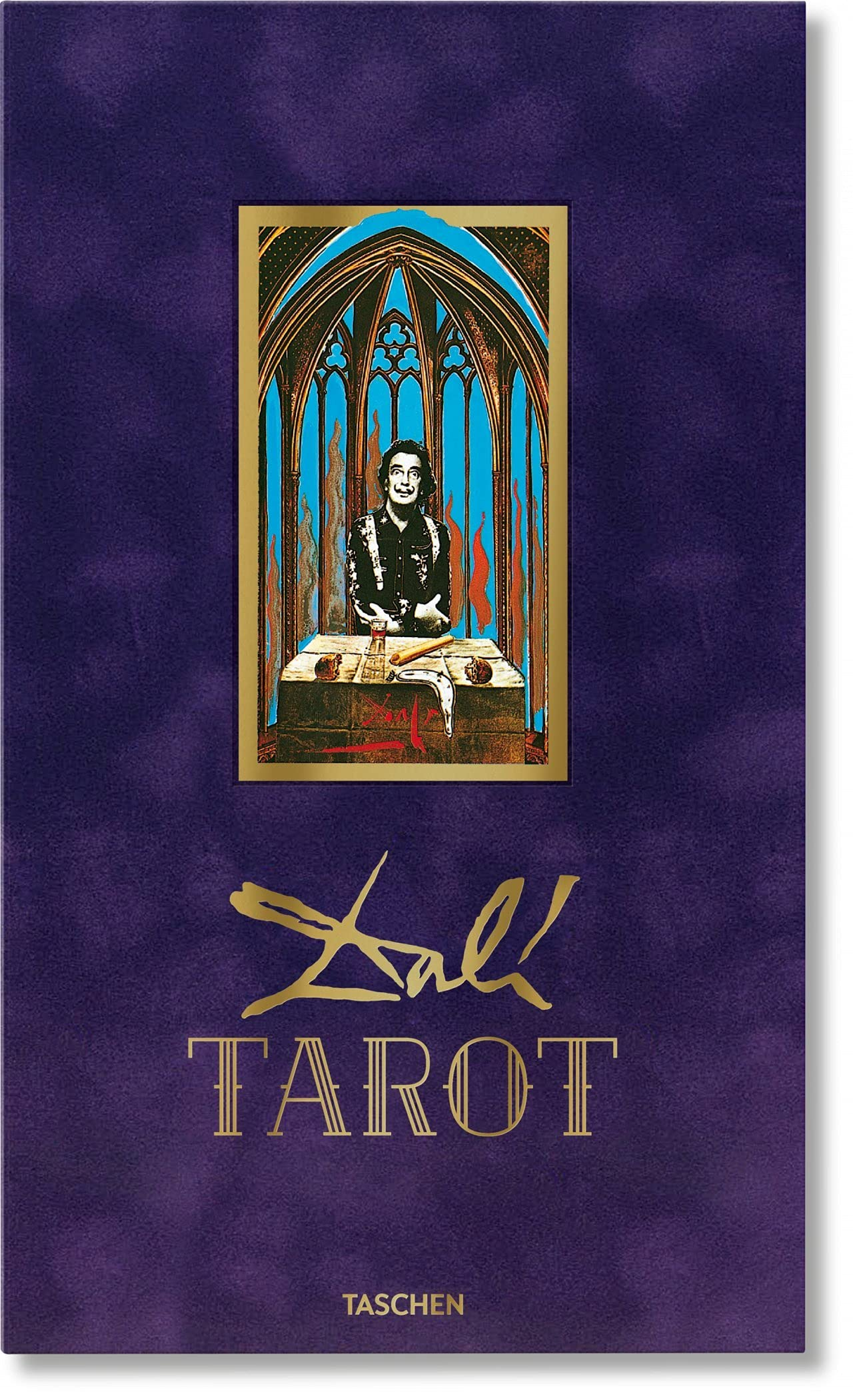 Dalí. Tarot (Multilingual Edition): Fiebig, Johannes: 9783836576123:  Amazon.com: Books