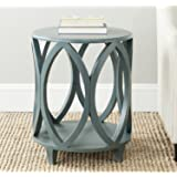 Safavieh American Homes Collection Janika Accent Table, Dark Teal