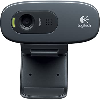 Logitech C270 Cámara Web, 3 MP, 1280 x 720 Pixeles, Color Negro