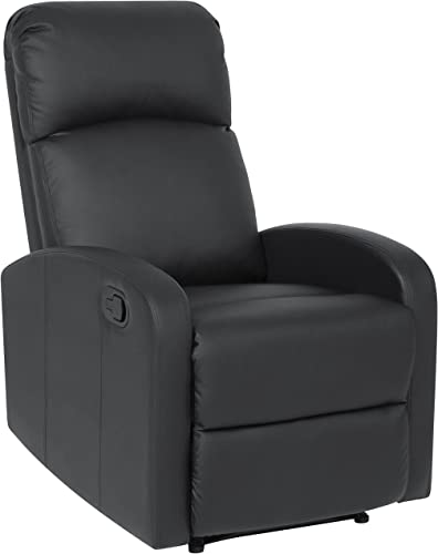 Best Choice Products Home Theater Leather Recliner Chair Black