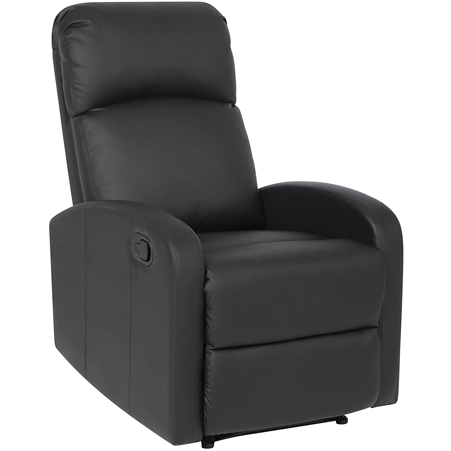 Best Choice Products Furniture Home Theater PU Leather Recliner Chair- Black SKY3069