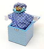 Peel and Sardine JB02 Blue Spotty Jack in The Box