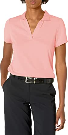 PGA TOUR Women's Airflux Short Sleeve Polo