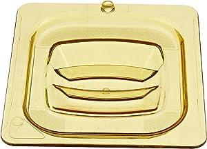 RCP208P23AMB - Hot Food Pan Covers, 6 3/8w X 6 7/8d, Amber