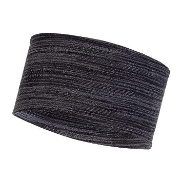 Buff 2 Layers Midweight Merino Wool Headband Größe one Size Castlerock Grey  Multi Stripes ff7c8896aa