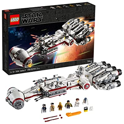 LEGO Star Wars: A New Hope 75244 Tantive IV Building Kit (1768 Pieces): Toys & Games