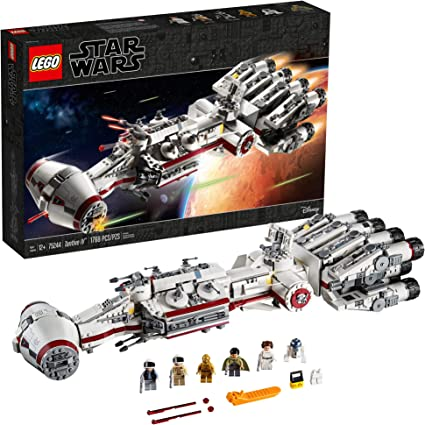 Amazon Com Lego Star Wars A New Hope 75244 Tantive Iv Building Kit 1768 Pieces Toys Games