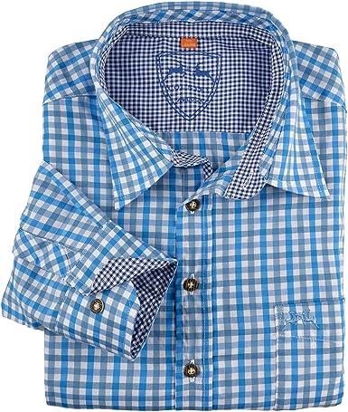 Maddox Camisa Tradicional Escocesa Azul-Blanco XXL, 2xl-8xl:3XL: Amazon.es: Ropa y accesorios