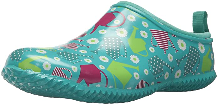 Western Chief Women's Garden Clog, Colorful Canisters, 11 M US