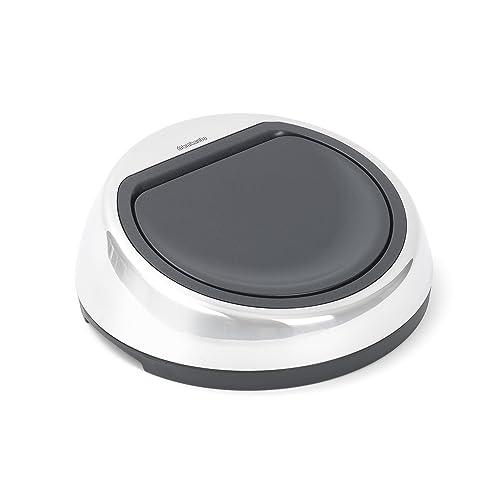 Brabantia Touch Bin Replacement Lid - Brilliant Steel, 50-60 Litre