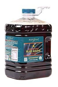 Blue Green Agave Organic Nectar, Raw Blue, 176 Ounce