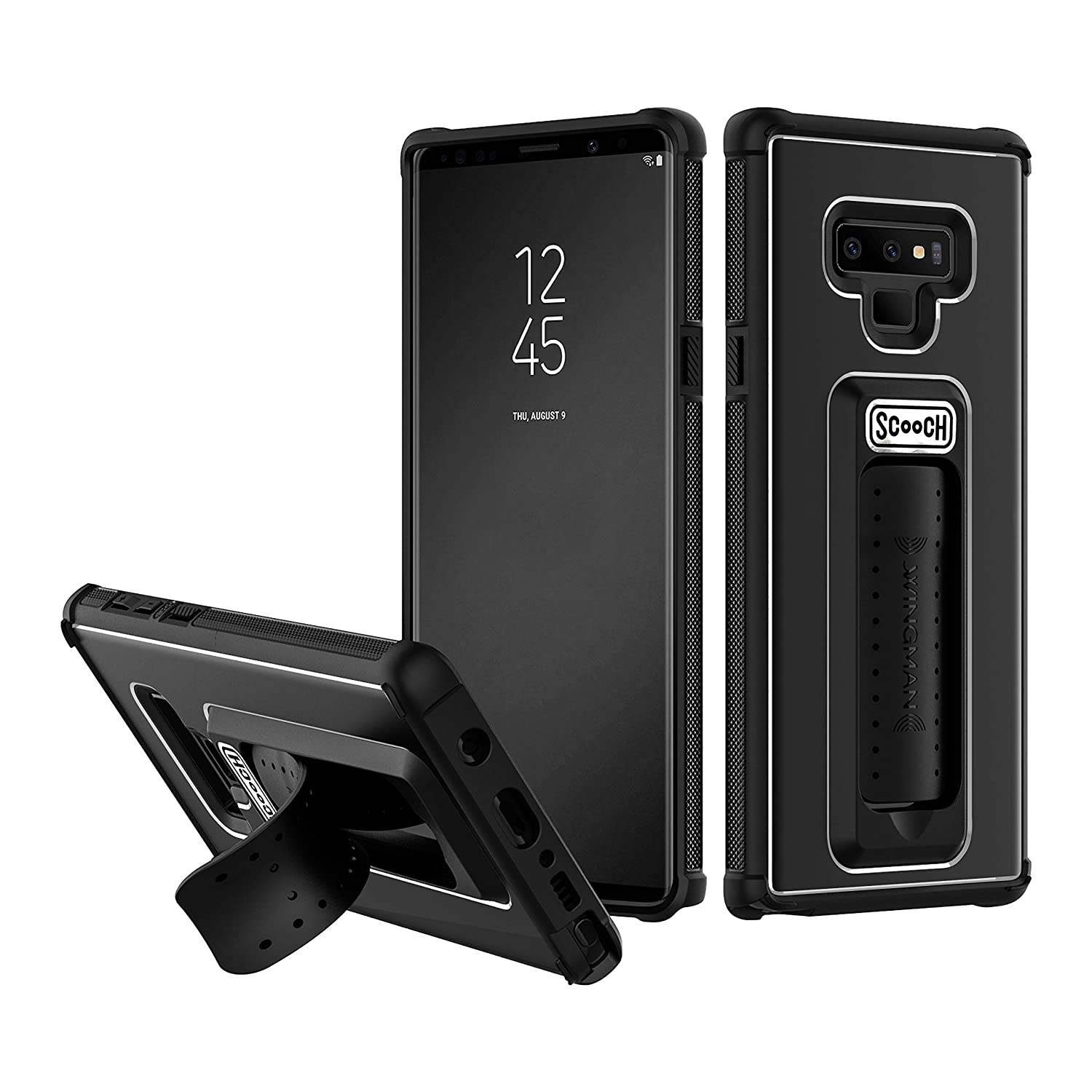 Scooch Wingman Samsung Note 9 Phone Case (Black)