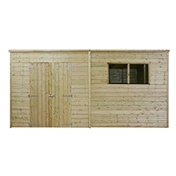 Yard, Garden & Outdoor Living 2019 New Style 10x6 Premium Workshop Shed Apex Roof 12mm Cladding Shatterproof Styrene 10ft 6ft A Wide Selection Of Colours And Designs