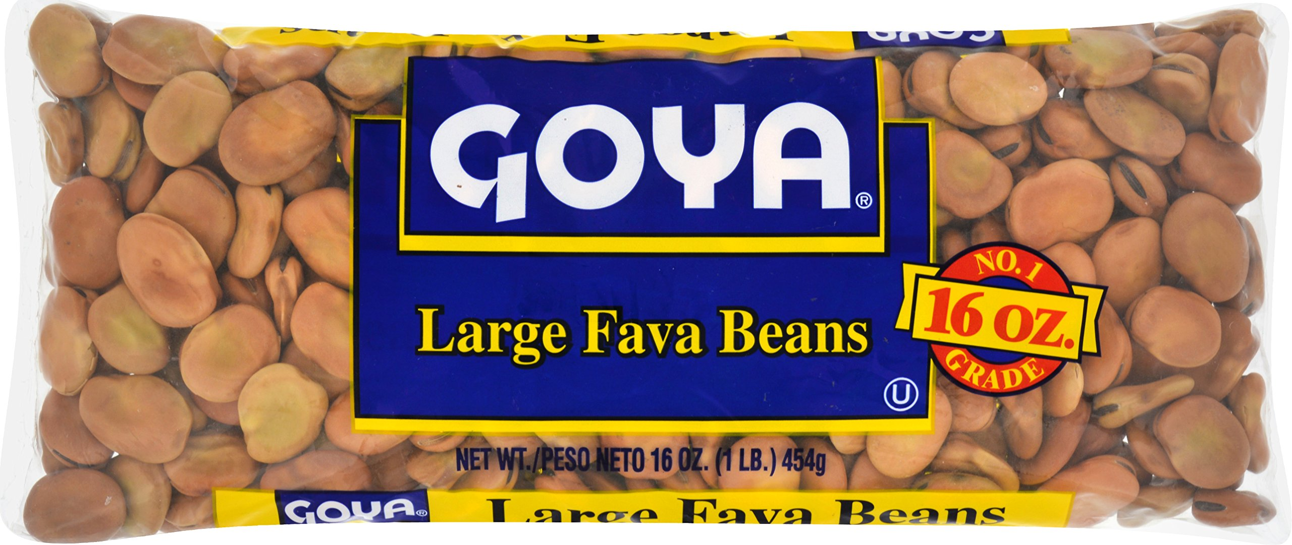 Goya Fava Beans, 1 Pound (Pack of 24)