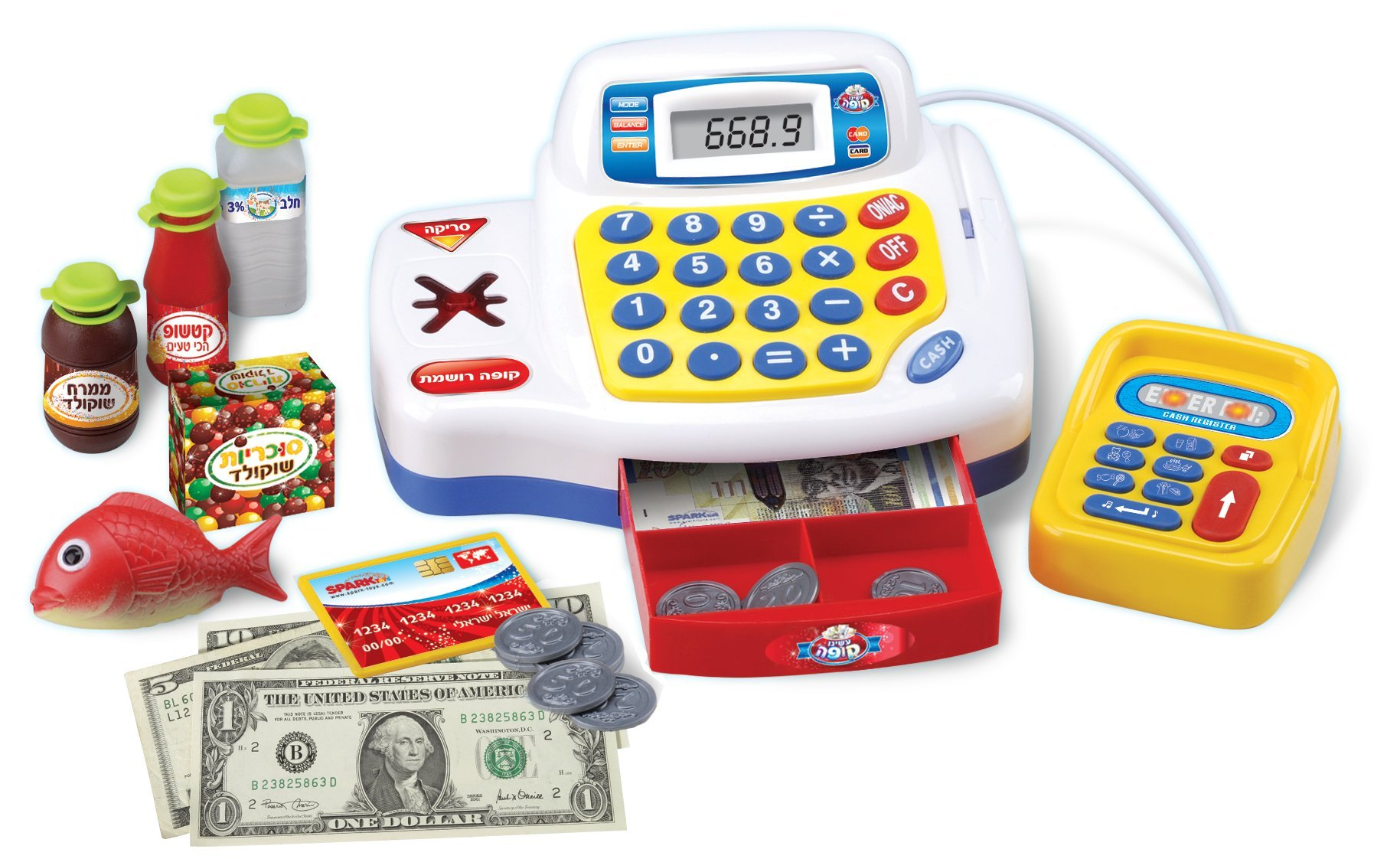 Small World Toys Living - Super Cash Register B/O by Small World Toys