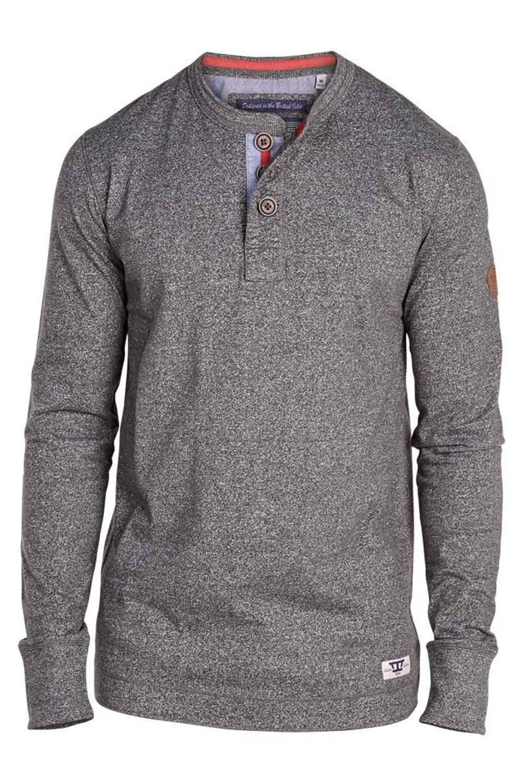 Mens Jersey Top D555 Duke Big King Size Grandad Collar Long Sleeved Casual  New: Amazon.co.uk: Clothing