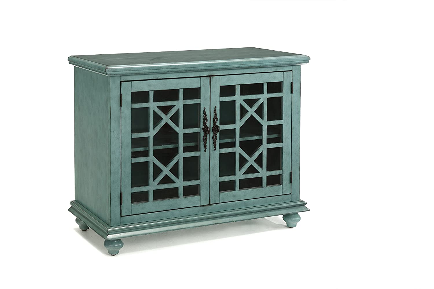 Martin Svensson Home Accent Cabinet 38 W x 32 H Teal
