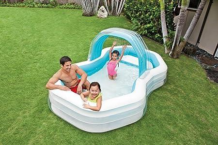 INTEX Family Lounge Pool Piscina Hinchable Familia Pool 310 x 188 ...