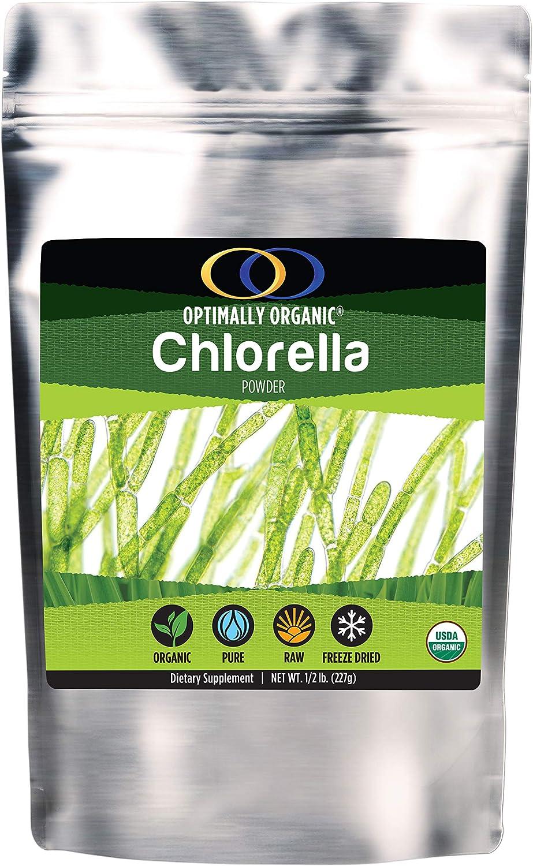 Chlorella Powder, 1/2 lb - Complete Nutrition, Whole Food Supplement