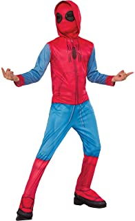 QWEASZER Spider-Man Homecoming Disfraz (Traje casero) Marvel Avengers Men Conjunto Completo Disfraz de Batalla Película de Halloween Cosplay Onesies Disfraces Accesorios de Fiesta,Spiderman-M: Amazon.es: Hogar