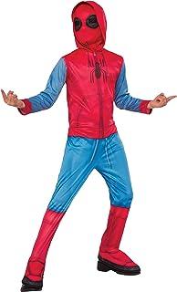 Rubieu0027s Spider-Man Homecoming Childu0027s Homemade Suit Costume Medium  sc 1 st  Amazon.com & Amazon.com: Spider-Man: Homecoming Childu0027s Deluxe
