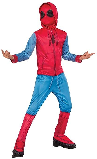 Marvel - Disfraz de Spiderman Sweats para niños, infantil 7-8 años (Rubies 640129-L)