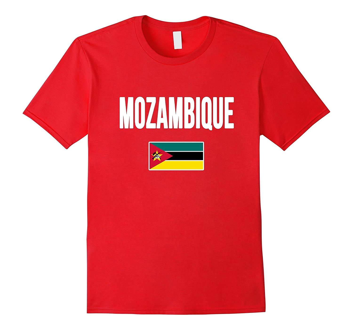 MOZAMBIQUE T-shirt Mozambican Flag Tee-TH