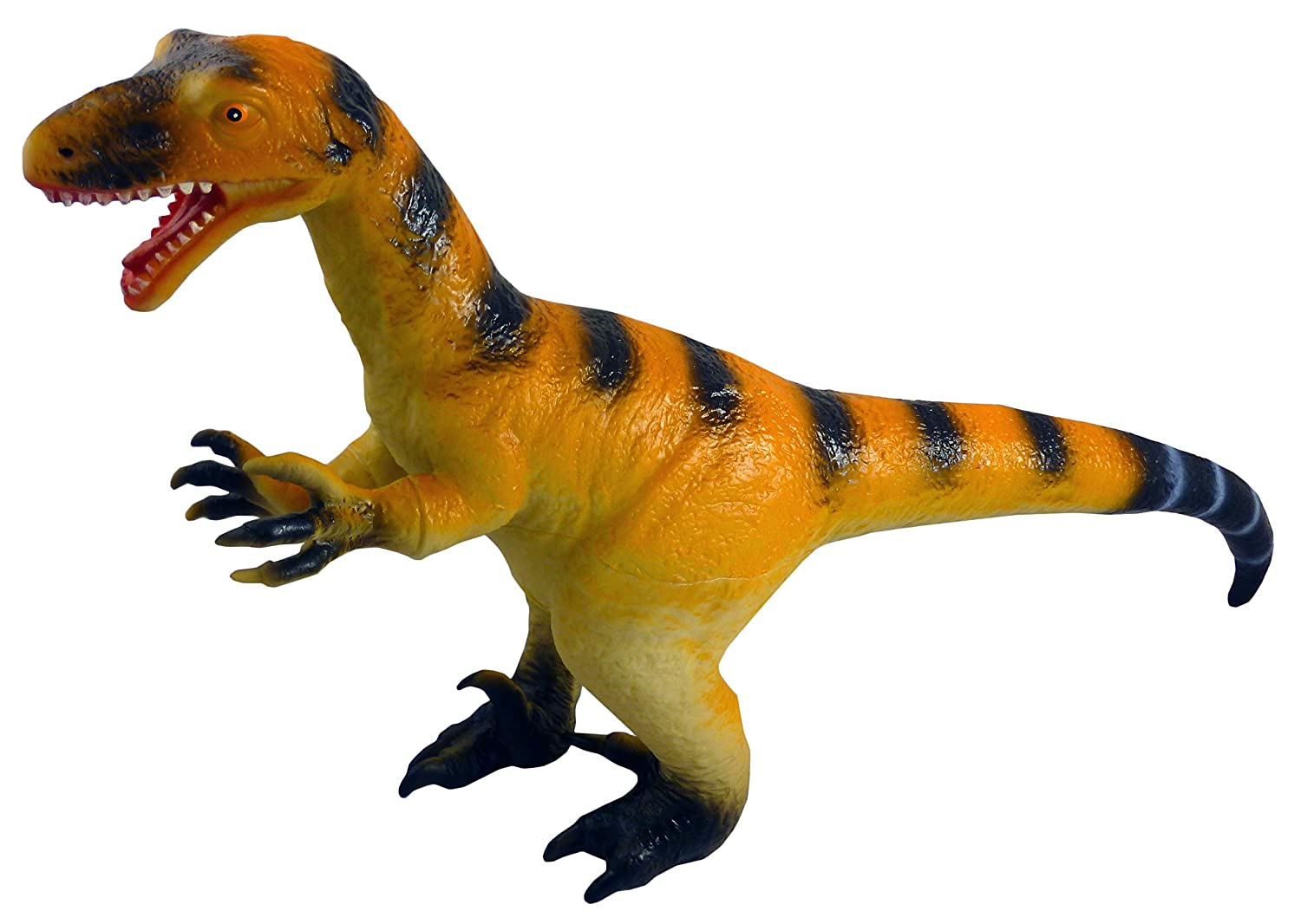 GIANT 36cm SOFT RUBBER STEGOSAURUS DINOSAUR ACTION FIGURE TOY WITH SOUND