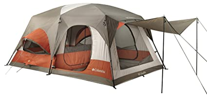 Columbia Cougar Flats II Family Cabin Dome Tent  sc 1 st  Amazon.com & Amazon.com : Columbia Cougar Flats II Family Cabin Dome Tent ...