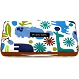 Ah Goo Baby Wipes Case, On-the-Go Travel Size, Zoo Frenzy