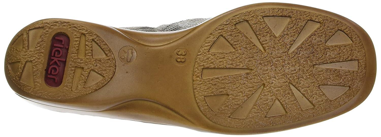 Rieker 41385 Doris 85 EU|Gold Flat B01MQLW8MU 37 M EU|Gold 85 5a7b38