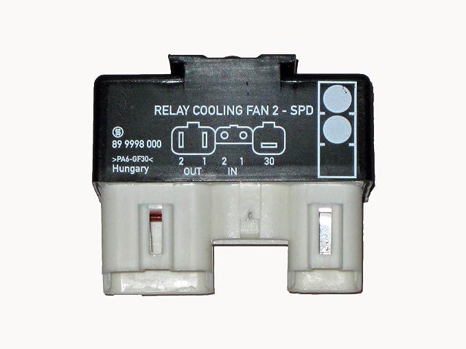Volvo Relais Kühlerlüfter Relay Cooling Fan 2 BOSCH 899962000 1398845 9442934