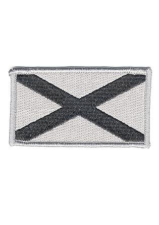e8c98d40 Amazon.com: Alabama State Flag Embroided Patch 2