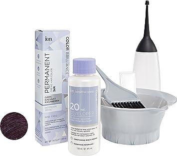 Brilliant 12 Intense Neutrals 7nn Medium Blonde Permanent Crème Hair Color Ion
