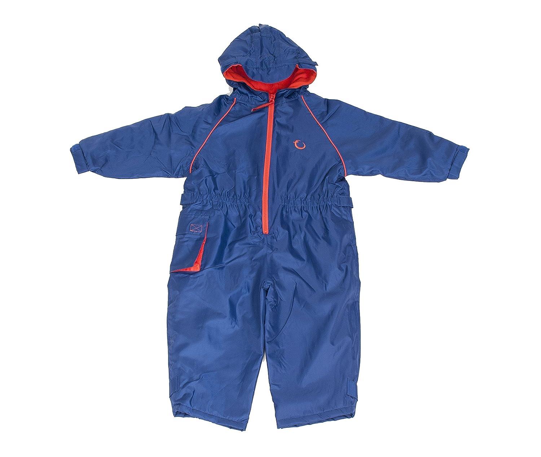 Hippychick Fleece Lined Waterproof All-in-One Suit - Blue HWNABF2-3