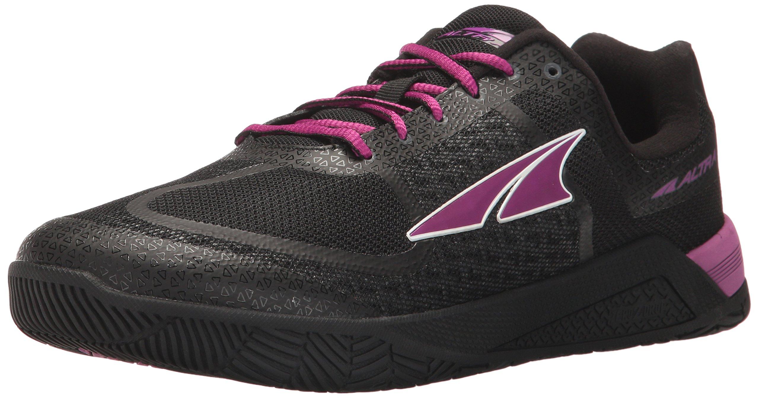 Altra AFW1776P Women's HIIT XT Cross Training Shoe, Black/Purple - 8.5