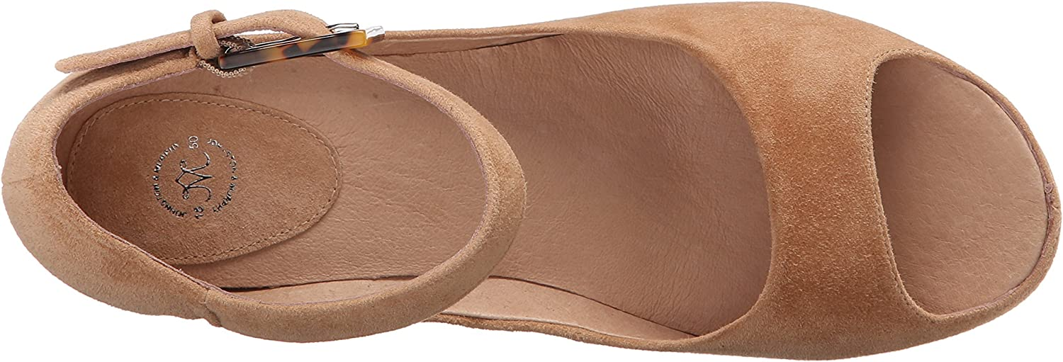 Johnston /& Murphy Womens Tricia Ankle Strap Wedge Sandal