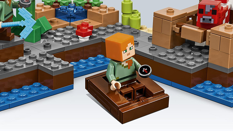 21129 Juguete Creativo Basado en el VideoJuego LEGO Minecraft Isla Champi/ñ/ón