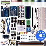 Kuman Project Super Starter Kit per Arduino UNO R3 Mega2560 Mega328 Kit Nano compresa la scheda R4 K4