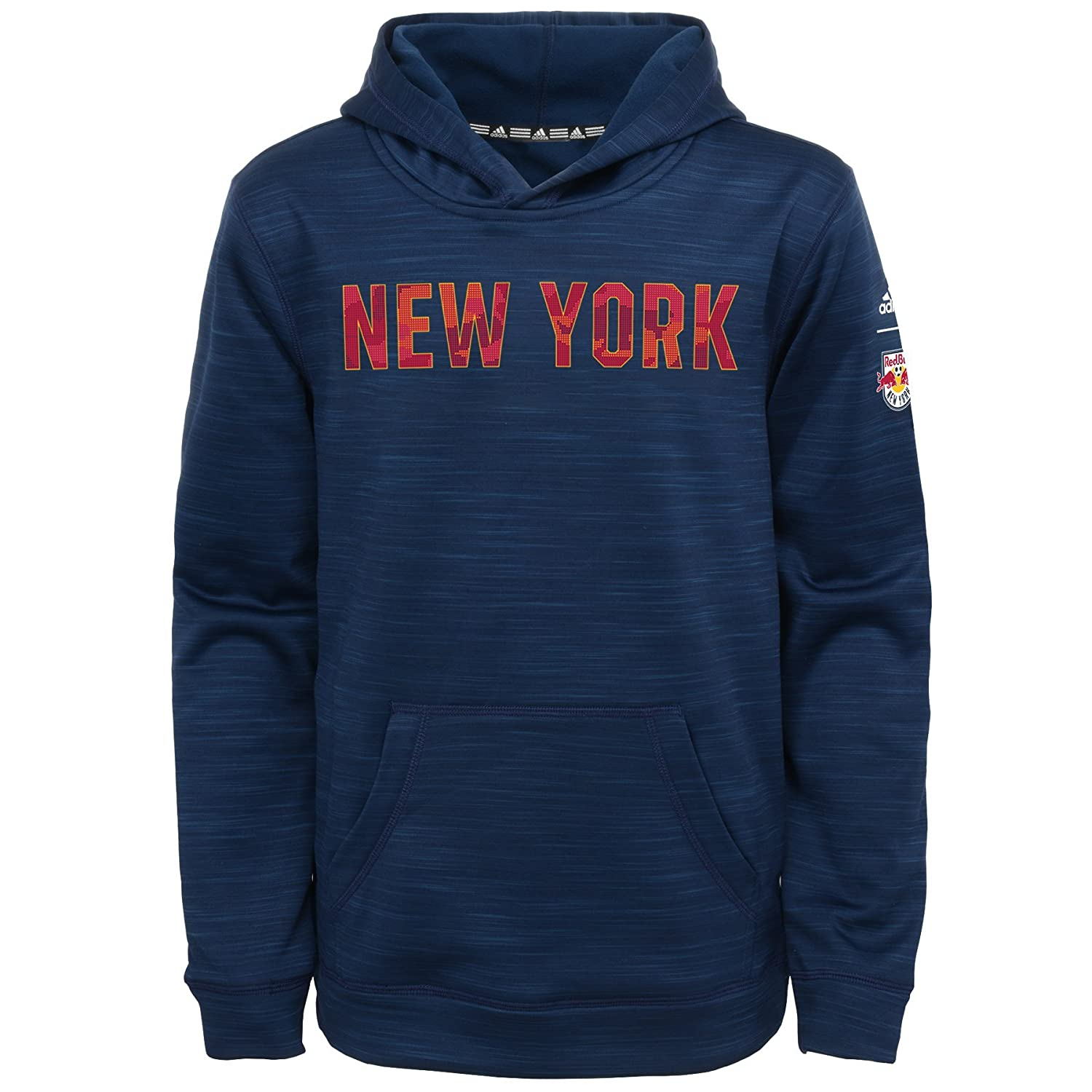 Kids Small Heathered Collegiate Navy 4 MLS by Outerstuff Boys Tactical Block Ultimate Hood